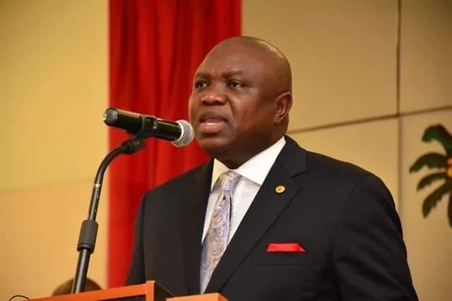 EFCC reacts to alleged raid on Ambode's residence, says it's only investigating ex-governor