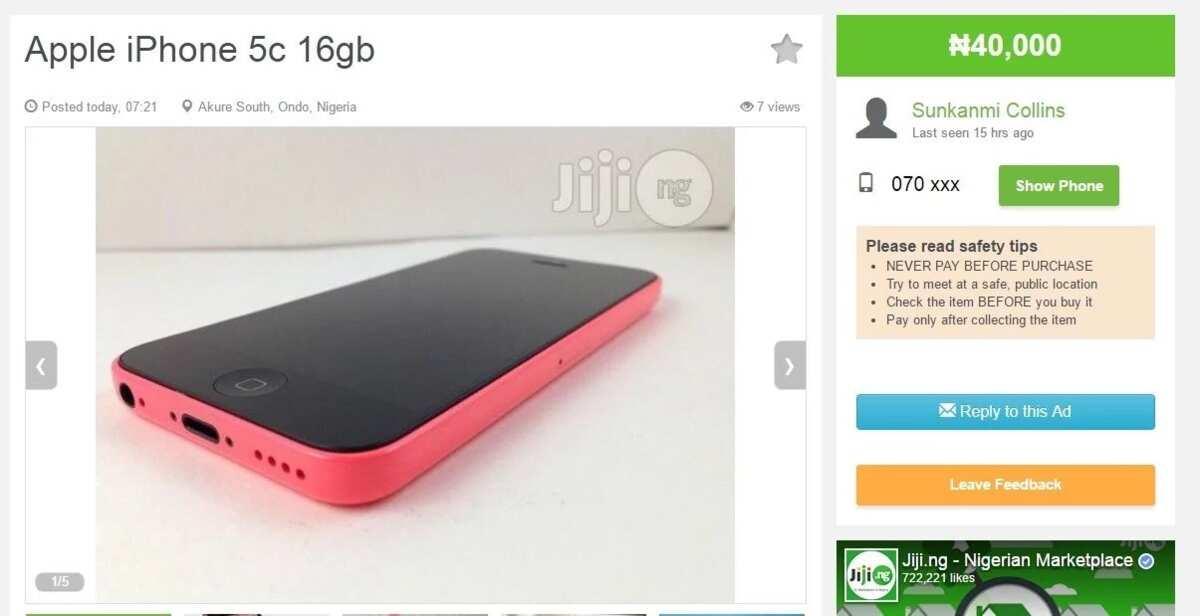 Jiji ng phones: Affordable mobiles for Nigerians ▷ Legit ng
