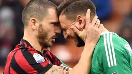 Top Italian goalkeeper in tears after suffering abuses from AC Milan fans(Video)