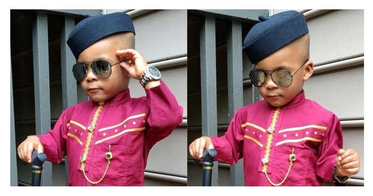 3ae06a07b21c Top 10 baby boy ankara styles ▷ Legit.ng