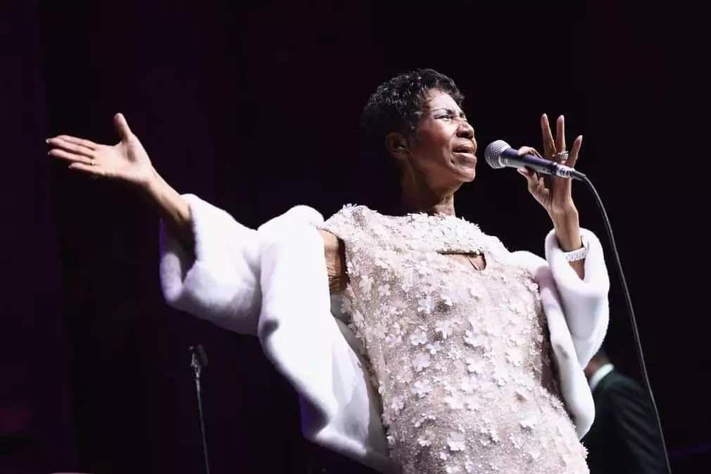 Greatest moments of late singer Aretha Franklin's life in pictures