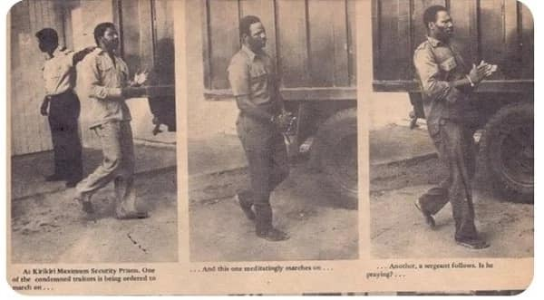 Rare pictures of 1976 coup plotters and how they were