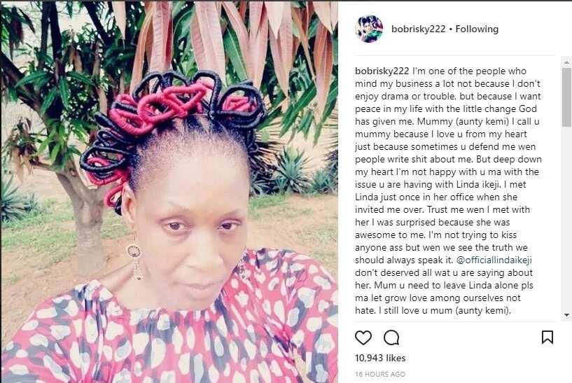 Bobrisky, Tonto Dikeh speak up in support of pregnant blogger Linda Ikeji