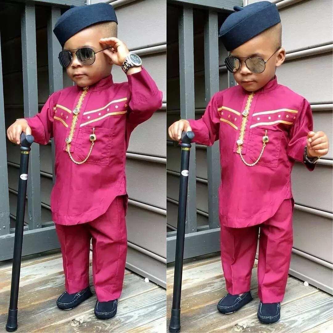 Baby boy image in Senator Style
