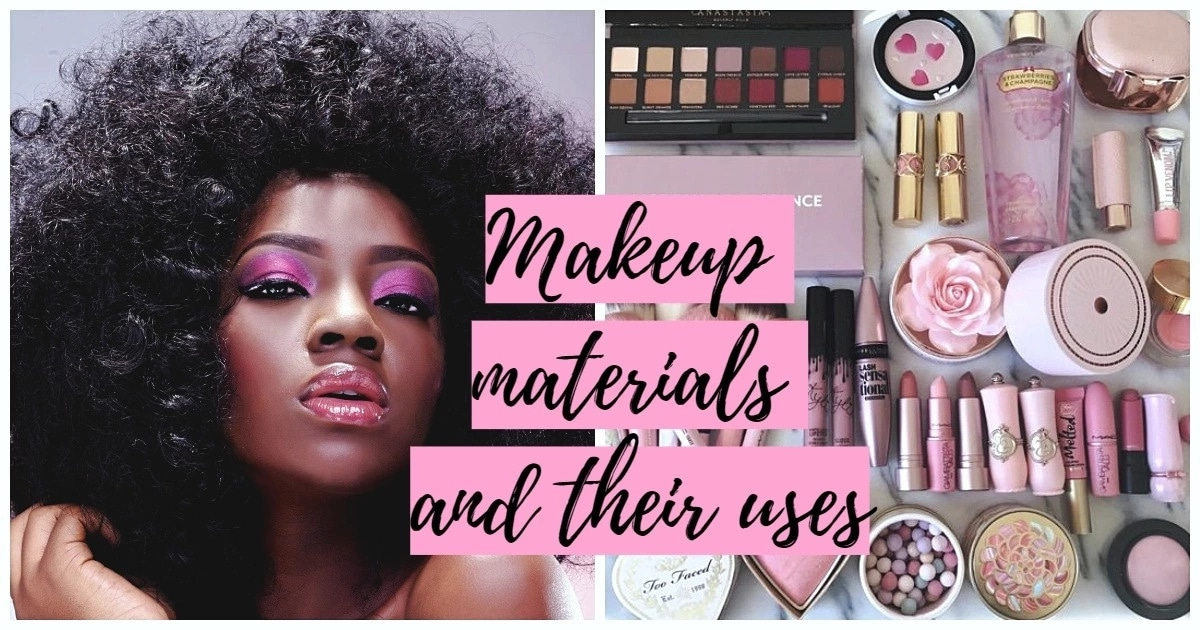 Makeup Materials And Their Uses In 2019