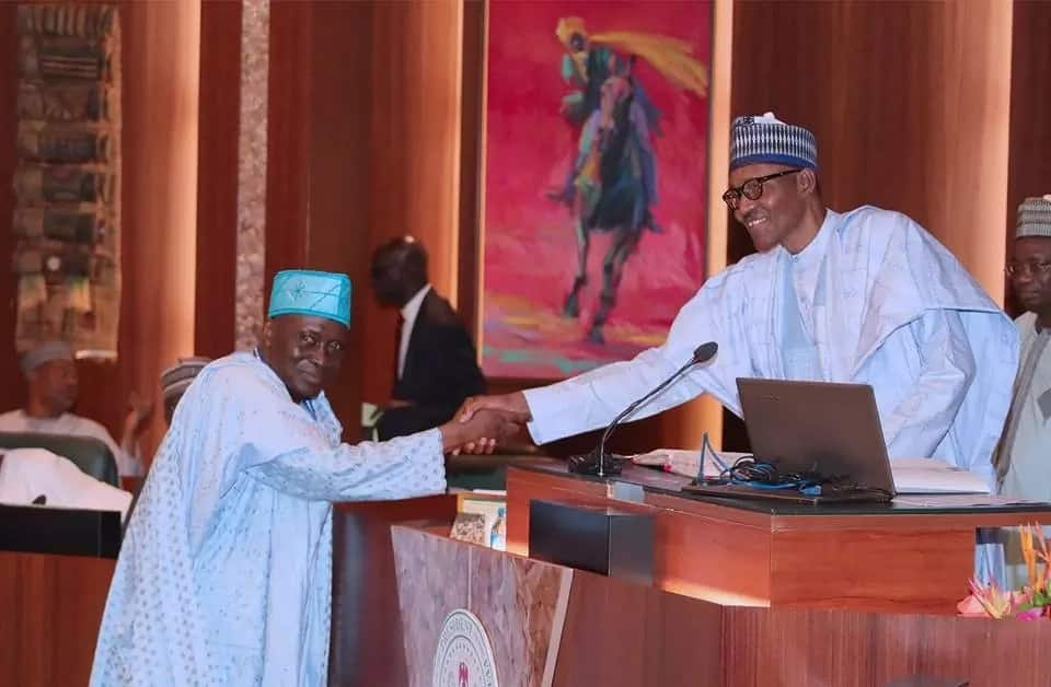 Buhari swears in Musiliu Smith as new chairman of police service commission