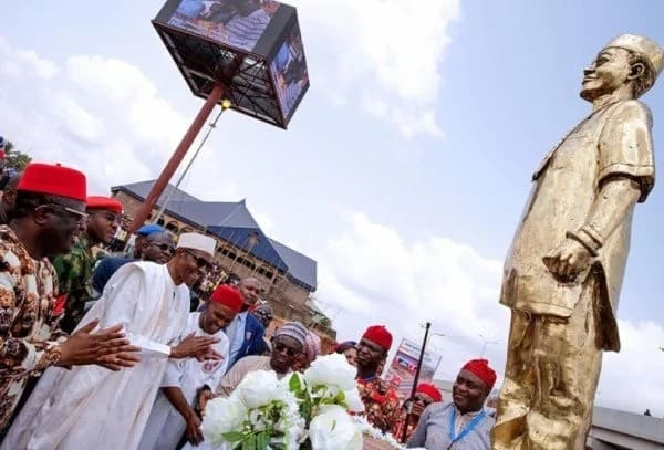 Breaking: President Buhari honoured with 2 chieftaincy titles in Igboland