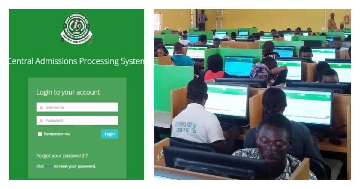 JAMB admission check and exam