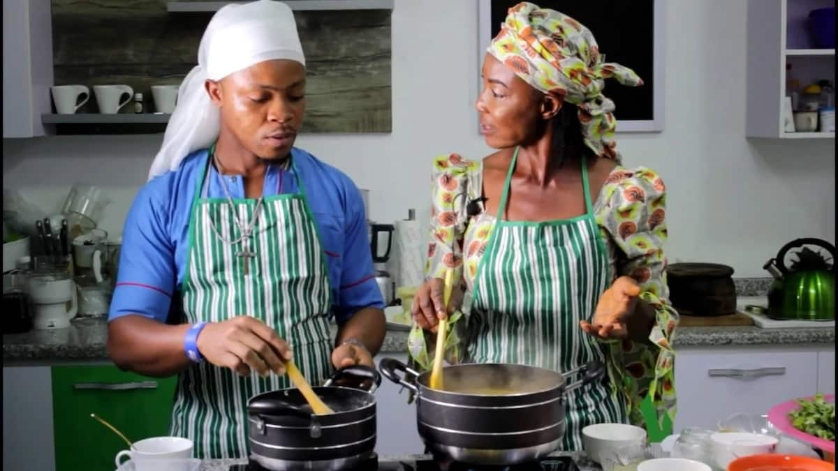 How to cook oha soup with achi