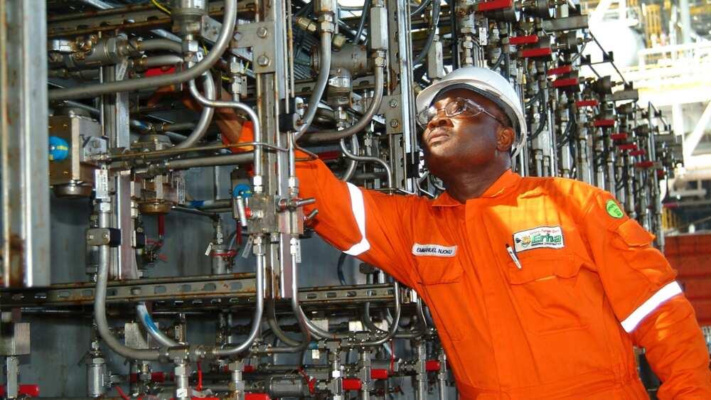 Nigeria - oil extracting