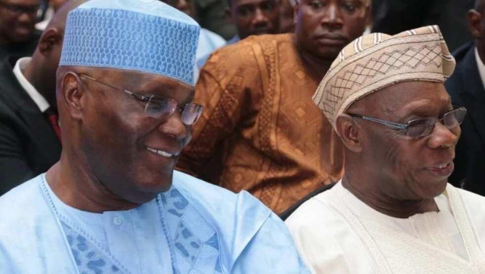 Atiku ya kaiwa Obasanjo ziyara