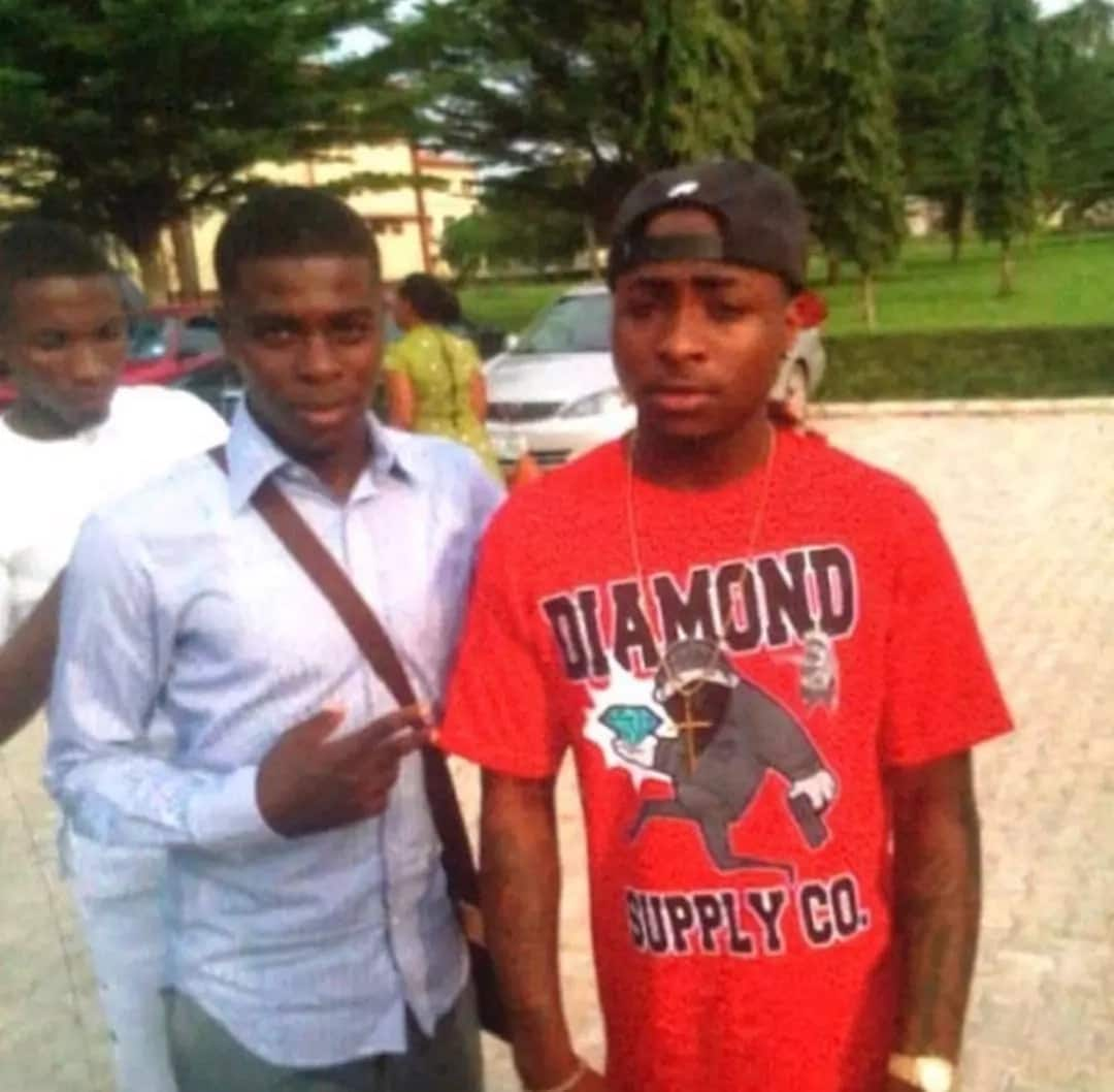 Throwback photo of Davido during his days in Babcock University emerges