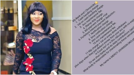 Mercy Johnson calls out banks as she decries excessive charges demanded by the institutions