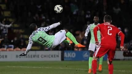 Football fans react, praise Odion Ighalo as Nigeria beat Libya again in 2019 AFCON qualifier