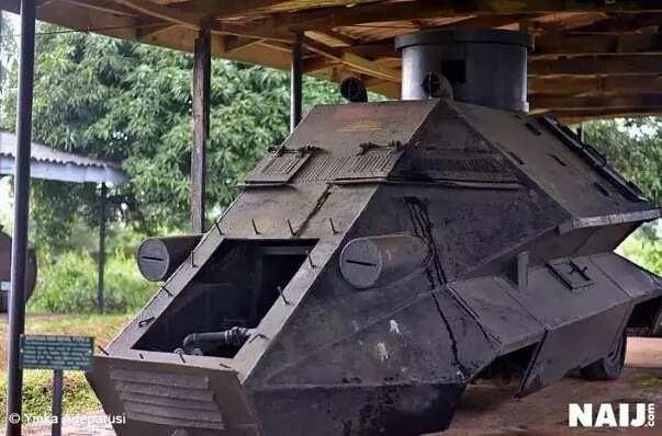 Weapons of Biafran war displayed in Owerri