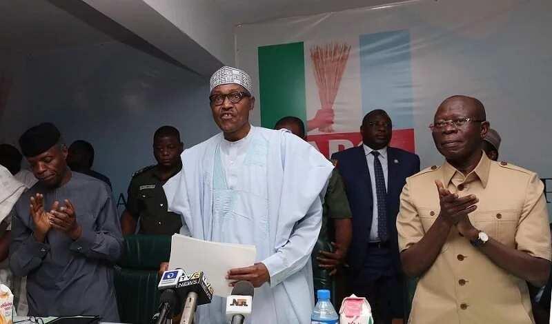 Kurunkus: Buhari ya fadi wanda ya amince da shi a matsayin shugaban APC na rikon kwarya