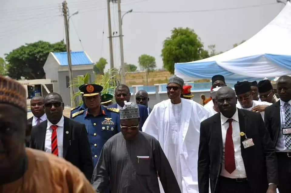 President Buhari commissions NAF Reference Hospital in Bauchi