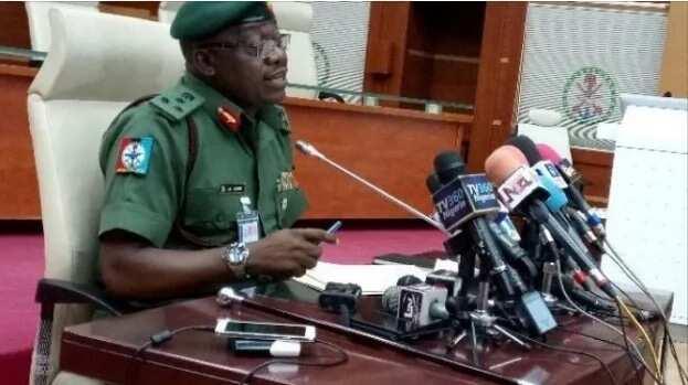 Gwiwar mu ba zata taba yin sanyi ba, martanin hukumar soji kan mutuwar 'yan matan Chibok