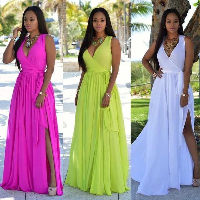 Chiffon dresses styles