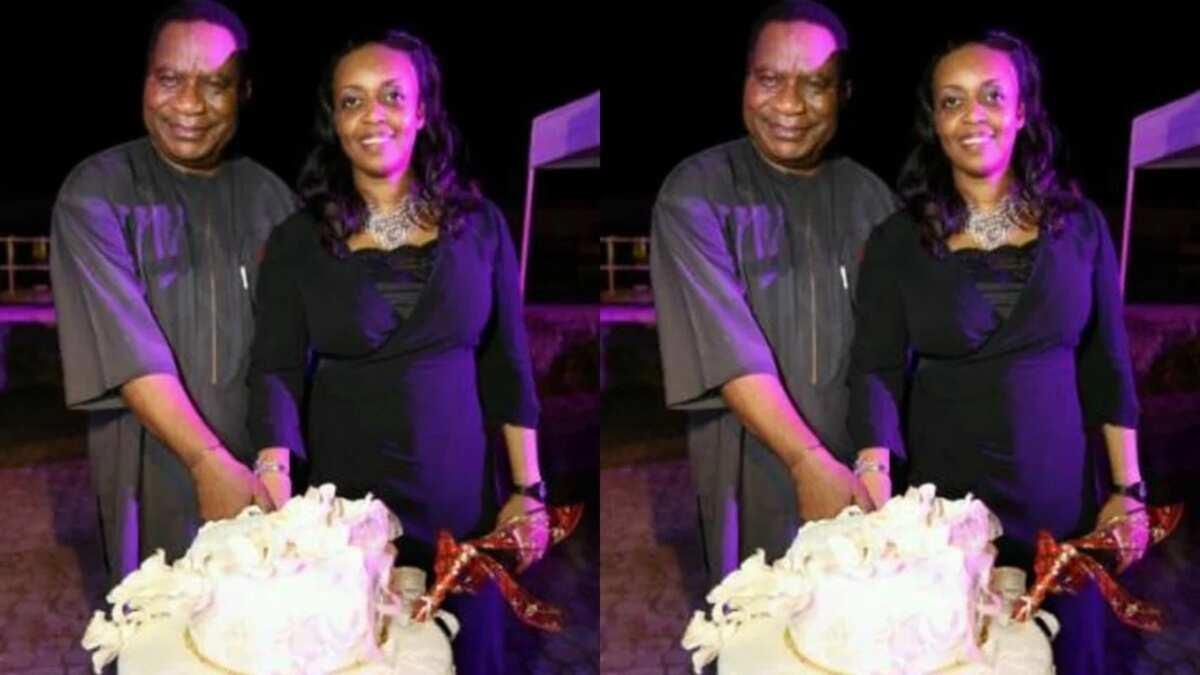 Diezani Alison-Madueke and her husband Admiral Alison Madueke