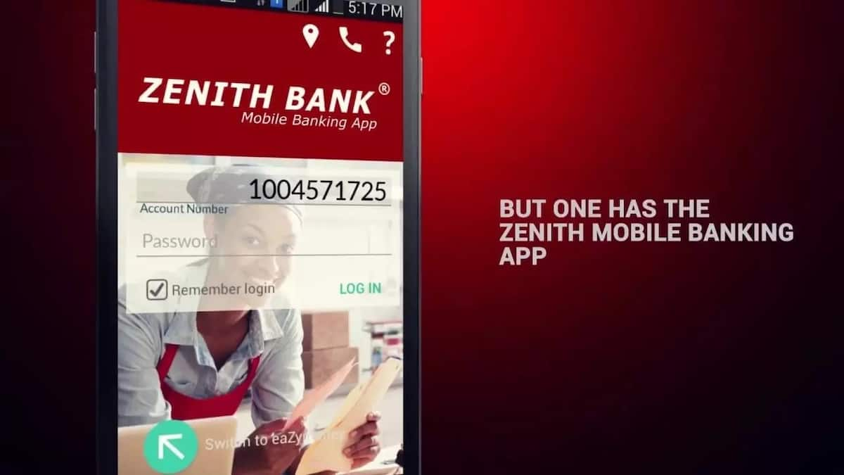 How to check zenith bank acc