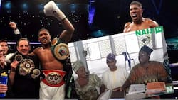 Meet all Anthony Joshua's family members based in Nigeria (video)