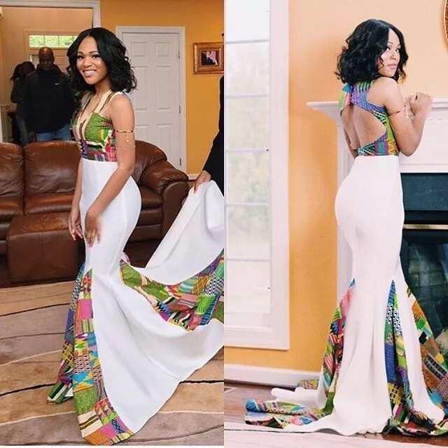 ankara prom dresses