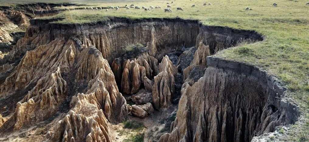 4 main causes of erosion in Nigeria