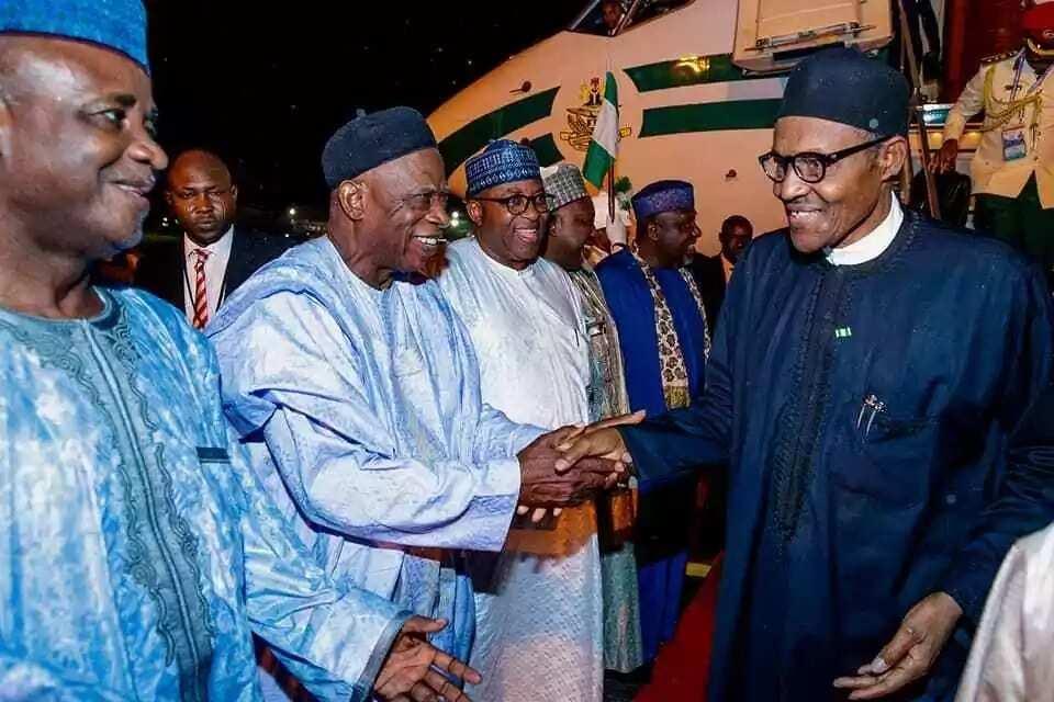 Da duminsa: Bayan kwanakin 6, Shugaba Buhari ya dawo daga kasar Sin