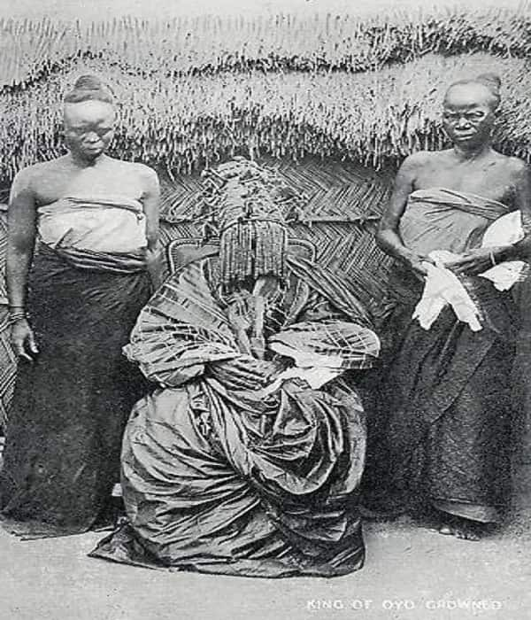 Alaafin Oyo picture from around 1900