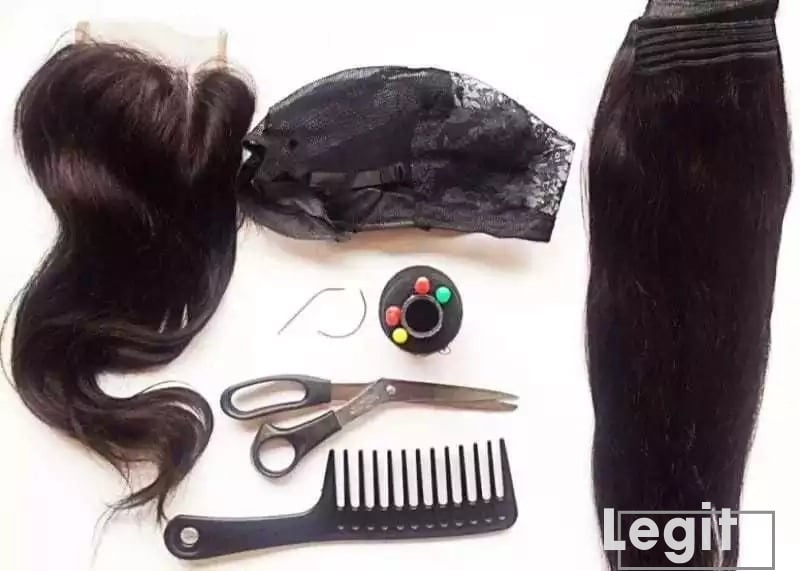 make lace wig from scratch