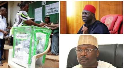 Ekweremadu blows hot over INEC's ban on smartphones at polling units, labels it unconstitutional