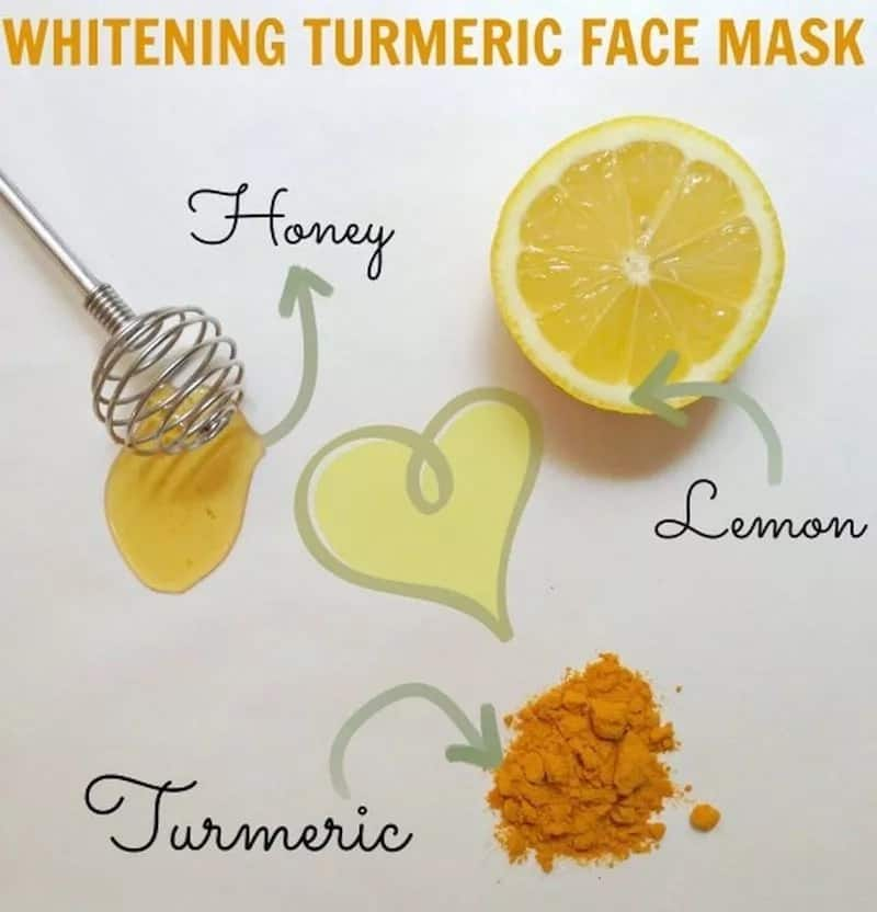 Advantages of turmeric face mask to lighten skin