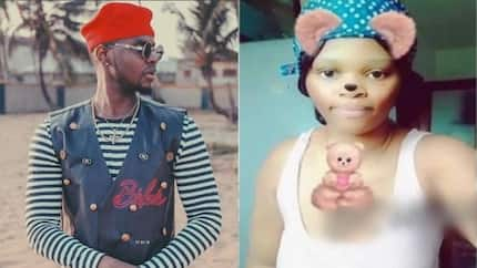Nigerian lady claims she is pregnant for Kizz Daniel, reveals baby bump