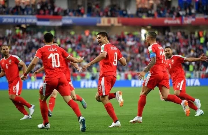 Serbia defeat Switzerland in second Group E game at Russia 2018