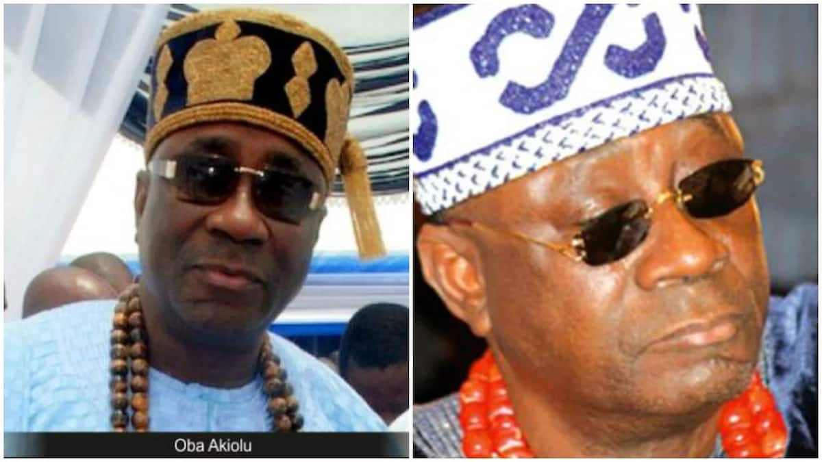 Could the reason for Oba Akiolu's snub, lie behind his ever-present dark glasses?