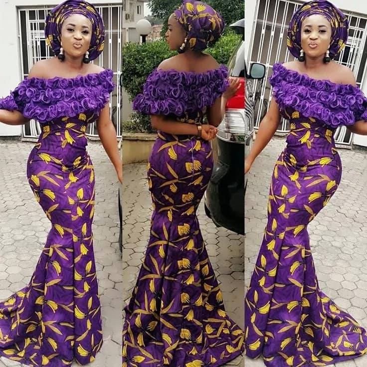 Latest ankara long gown styles