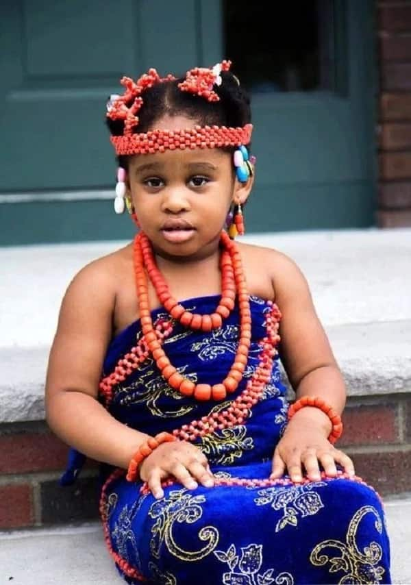 13d70732f Igbo traditional attire for children ▷ Legit.ng