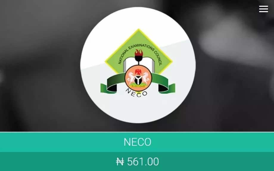 How to buy NECO scratch card online cost