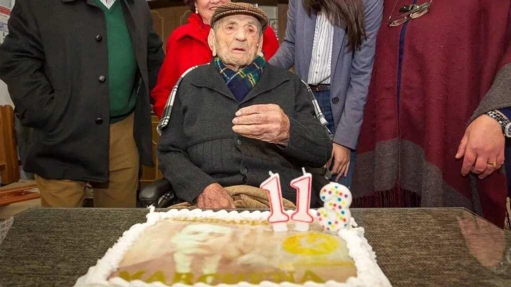World's oldest man Francisco Nunez Olivera dies in Spain at age 113