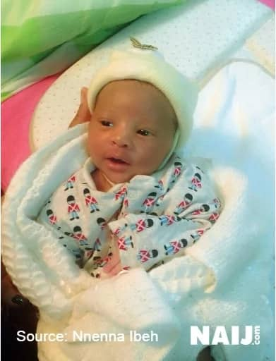 First photos of Fani-Kayode's son