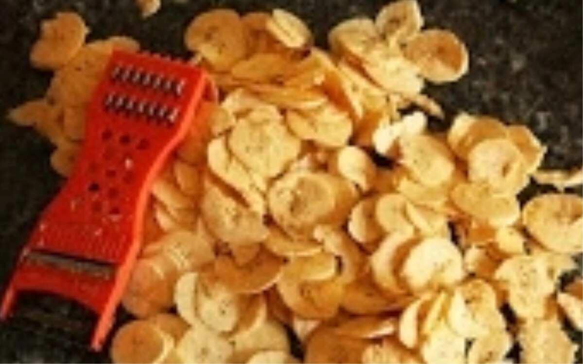 How to prepare unripe plantain chips