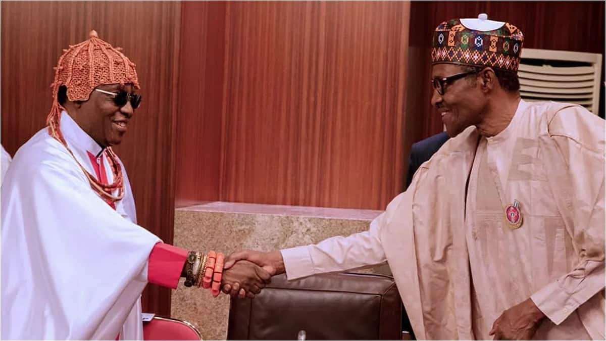Oba of Benin makes historic first visit to Abuja since coronation