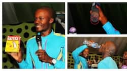 Pastor makes churchgoers drink rat's poison, claims it's for healing (photos)