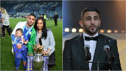 CONFIRMED! Leicester City star Riyad Mahrez is married to the most beautiful woman in England (photos)
