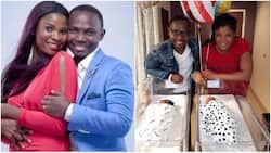 Top comedian Teju Babyface and wife welcome a set of twins after waiting for 6 years (photo)
