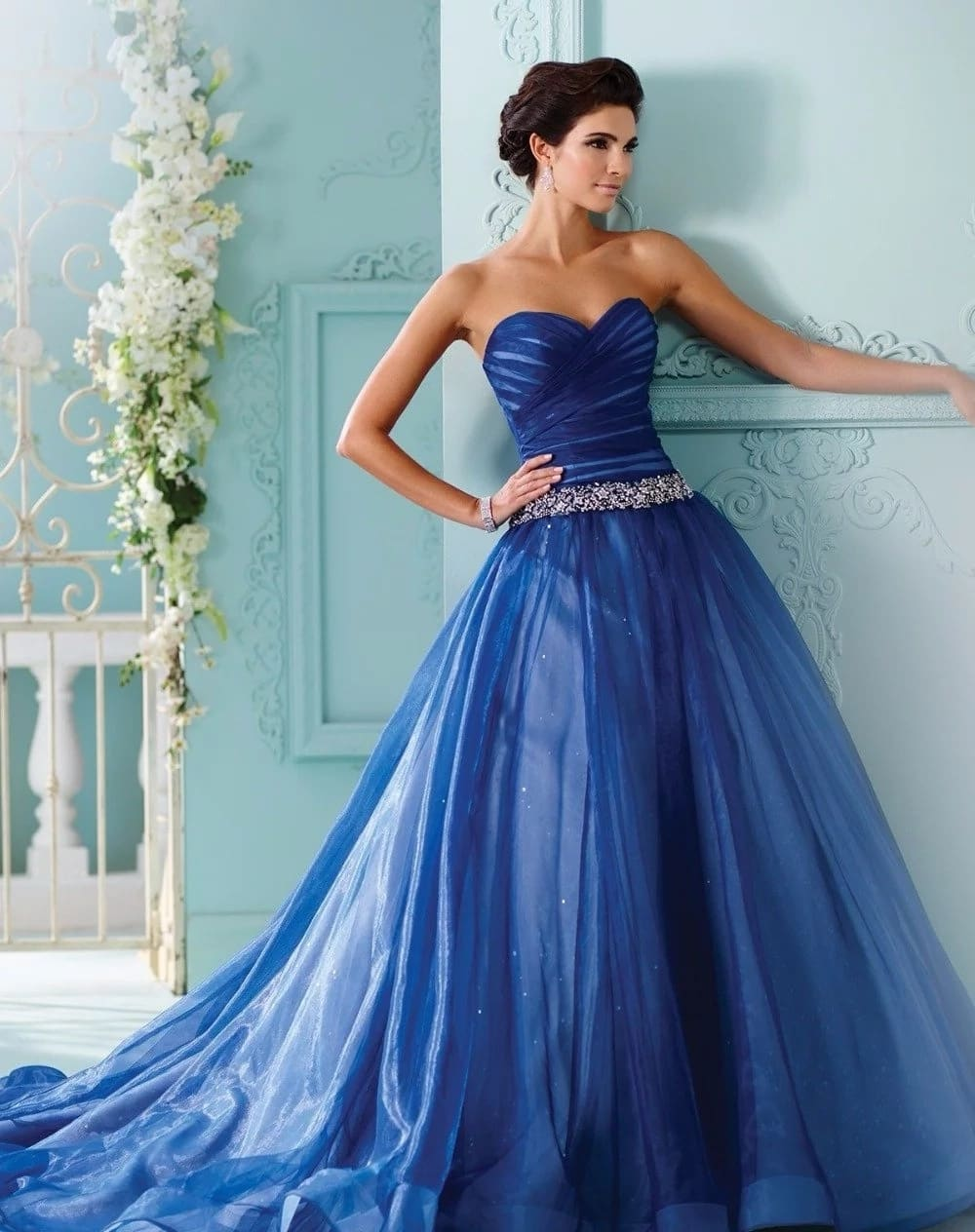 Royal Blue Wedding Dress Meaning