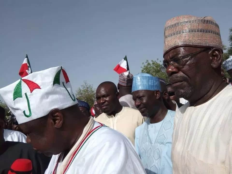 PDP holds rally in Jigawa on March 12. Photo source: Governor Dankwambo
