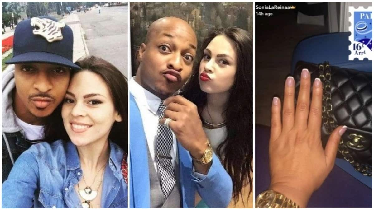 IK Ogbonna's Colombian wife shows off her ring-less finger amidst break-up speculations