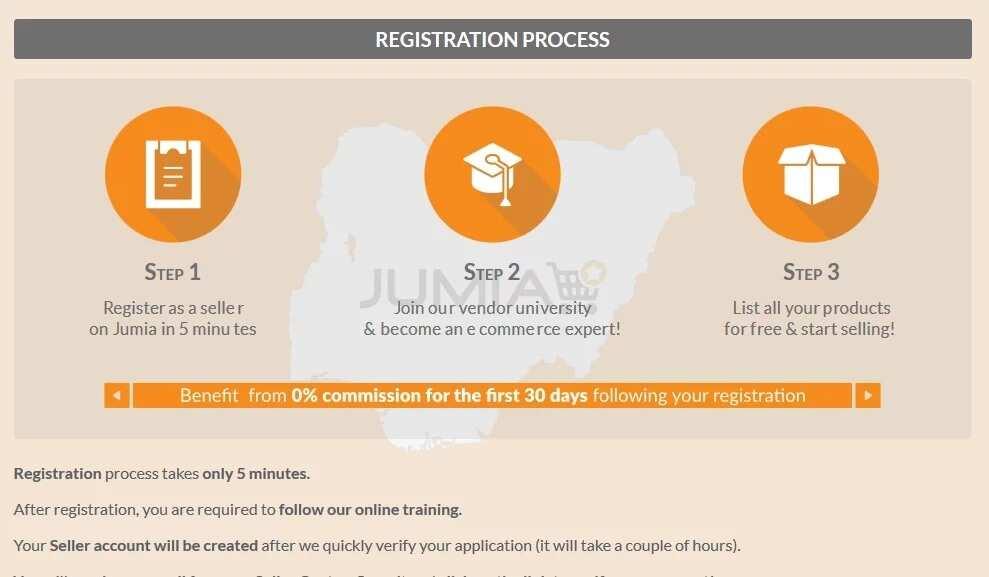 cbe62d6b828 Jumia seller registration page